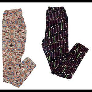 🔥3/$20 - Lula Roe - 2 pair of leggings